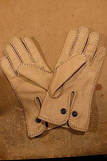 One more project I really don't have time for right now but have always wanted to tackle - making a pair of leather gloves. I love how the p...