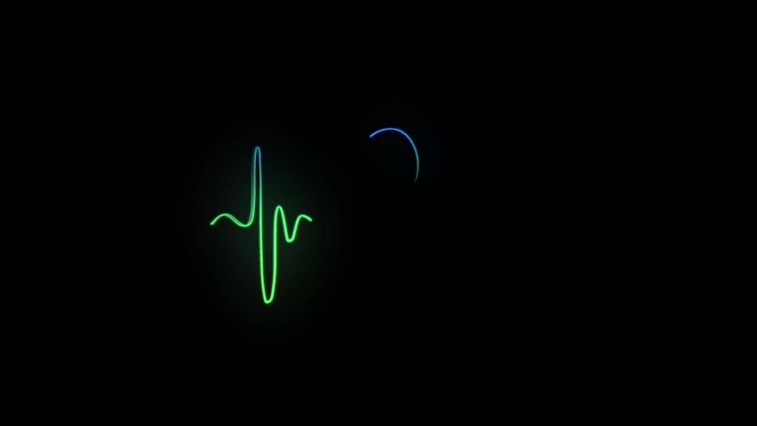 Abstract Seamless Line Heart Beat. Stock Footage Video (100% Royalty-free) 1059197093   Shutterstock