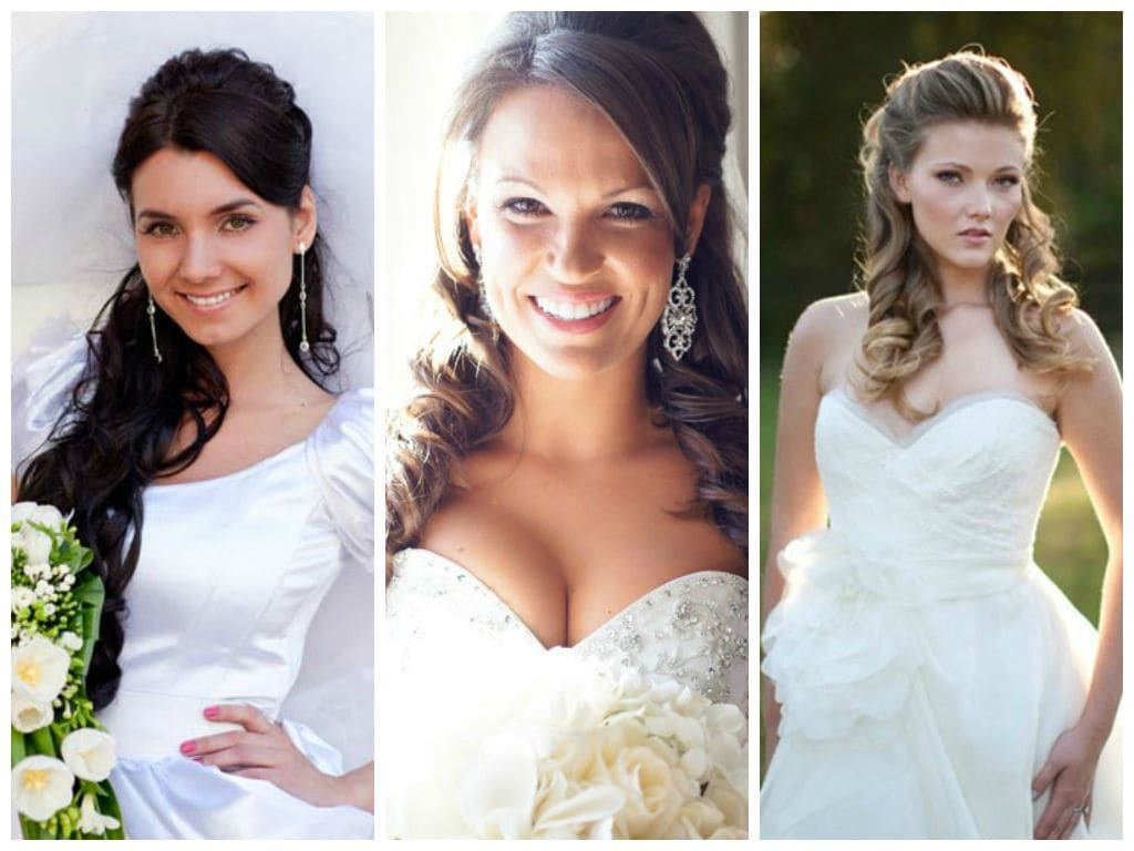Best Wedding Hairstyles For Round Faces Beautiful 20 Best Wedding Hairstyles For Round Face Hair Styles Oval Face Hairstyles Long Hair Styles