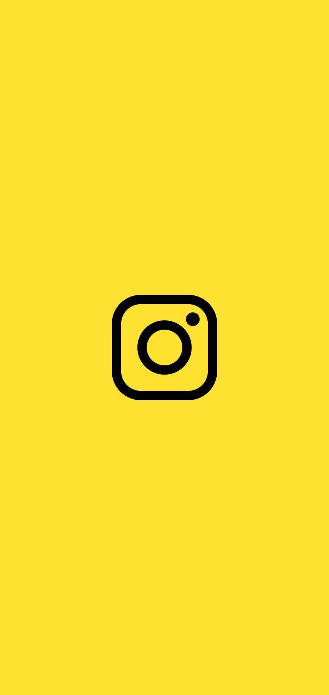 Instagram Iphone Wallpaper Yellow Emoji Wallpaper Iphone Instagram Wallpaper