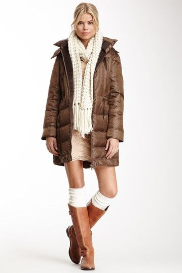 Long Puffer Coat, winter awe shucks, us Canadian girls know how to rock the winter duds. So hot makes the snow melt