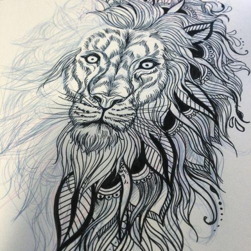lion mandala tattoo google search tattoo pinterest mandala lions and tattoo. Black Bedroom Furniture Sets. Home Design Ideas