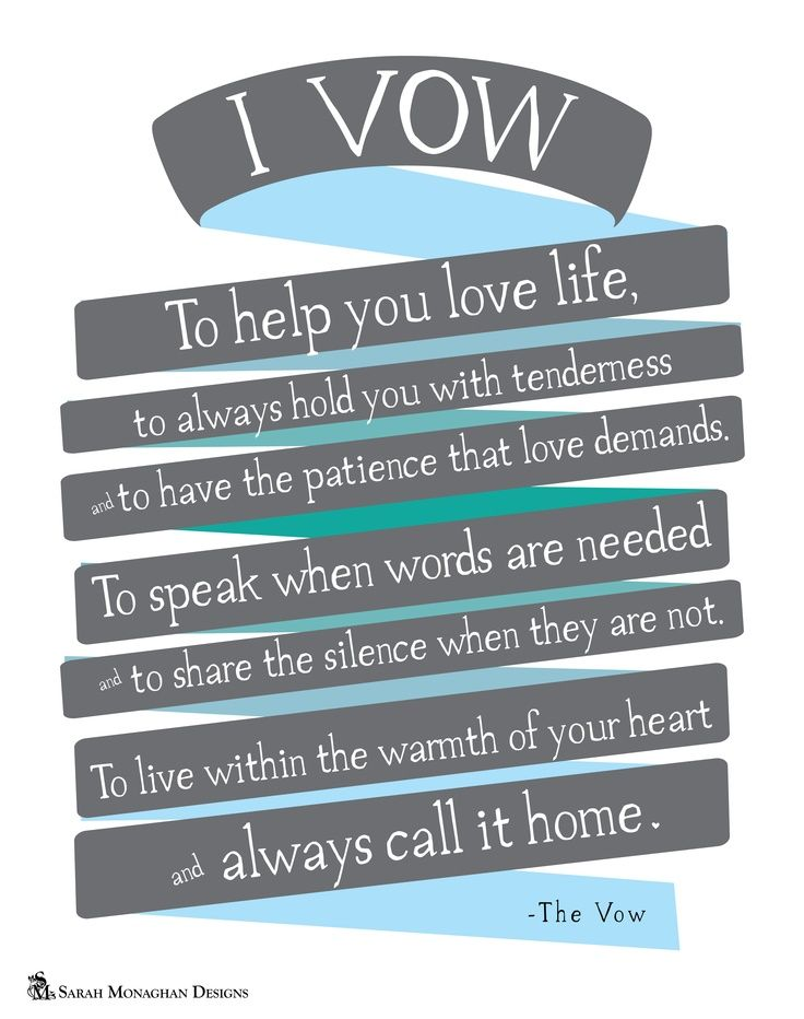 Love This Quote From The Vow Such A Perfect Movie