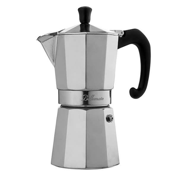 Bellemain 6-Cup Stovetop Espresso Maker Moka Pot: Espresso At Your Fingertips Without Breaking The Bank #espressomaker