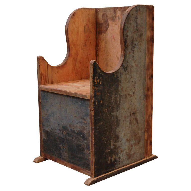 American Chair C 1840 Primitive Decorating Country Primitive