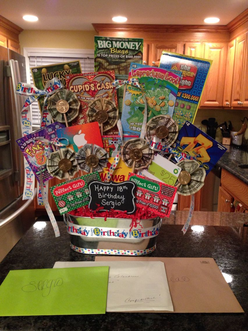 See The Source Image Birthday Gift Baskets 18th Ideas Money