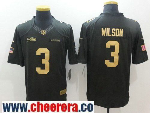 limited jersey mens seattle seahawks 3 russell wilson anthracite gold 2016 salute to service stitched nfl nike