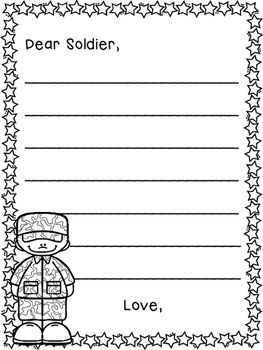 Writing Templates For Letters To The Military Letter Writing