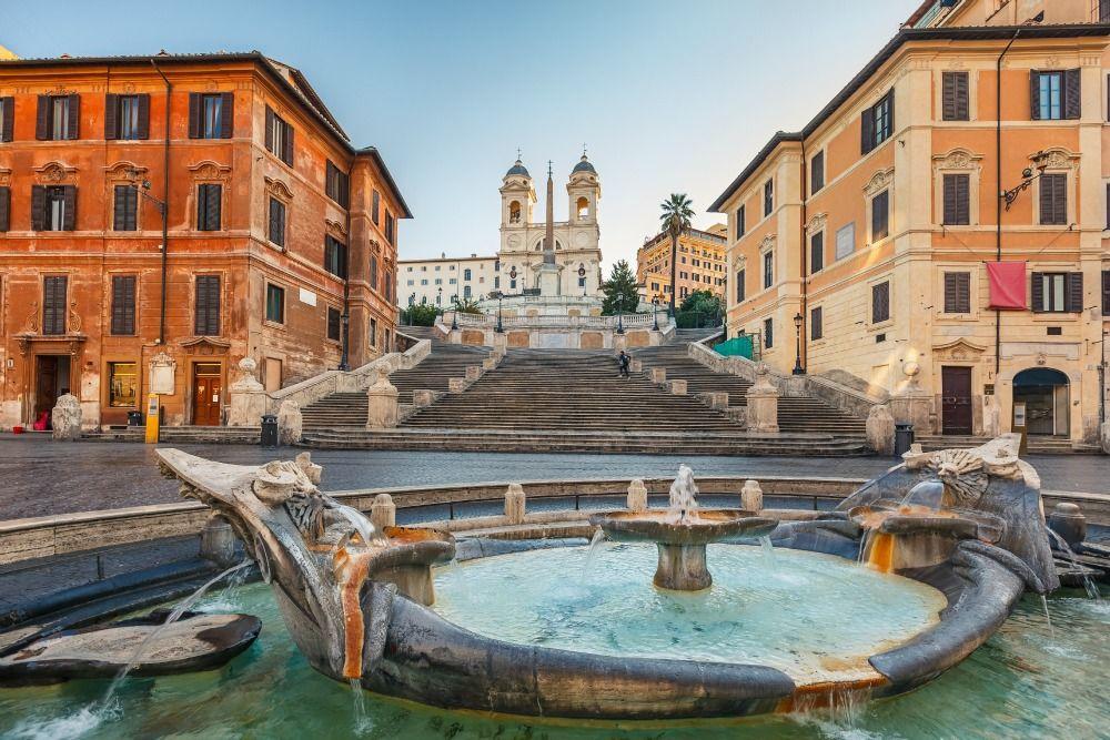 Da non perdersi a Roma: Scala i 138 gradini della Scalinata della Trinità dei Monti a Piazza di Spagna  http://www.volagratis.com/content/guide-turistiche/guida-viaggi.html  #italia #roma #rome #italy
