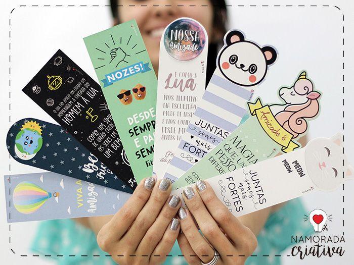 Preferência Marca páginas para imprimir e dar aos amigos | Super simples  EB23