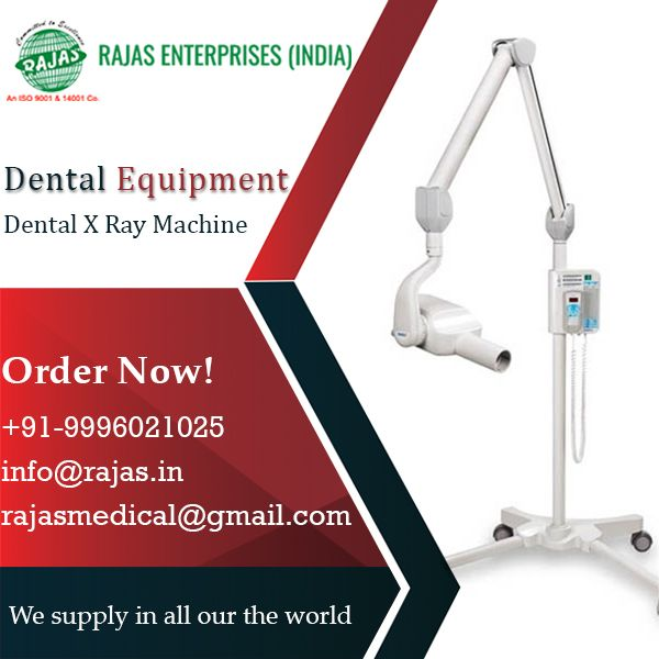 The Dental X Ray Machine Package Is A True Insurance Of Quality With All The Benefits Of The Rajas Technology Order Now Dental X Ray Dental Hospital