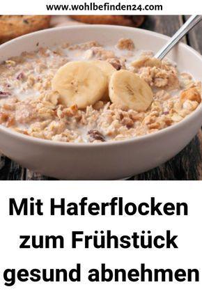 Frühstück zum Abnehmen mit Hafer