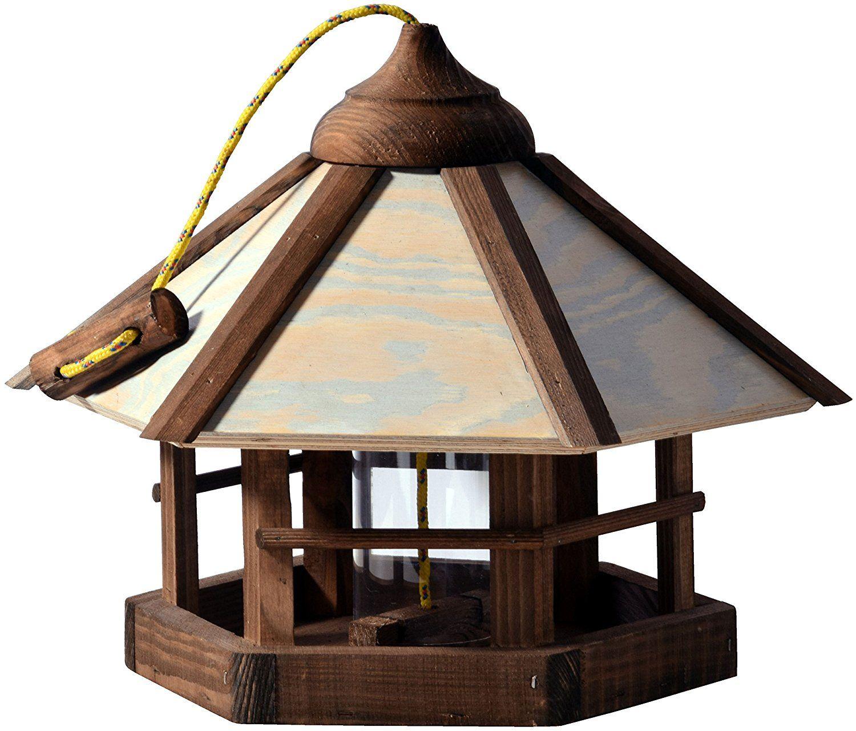 Dobar 21390 Vogelhaus Camouflage Zum Aufhangen Aus Holz Mit