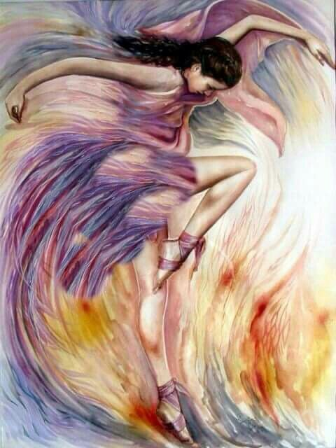 Pin De Hulya Kurtyilmaz En Photos Danza Arte Pintura Al Oleo Realista Pinturas De Baile