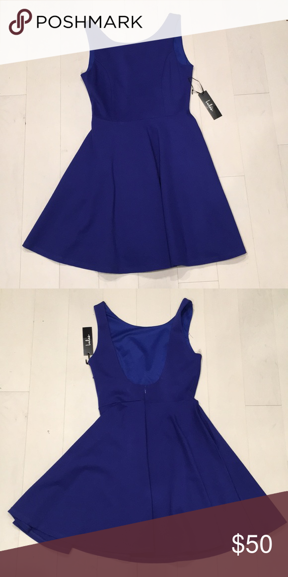 db72b9a1284 Short navy dress Blue