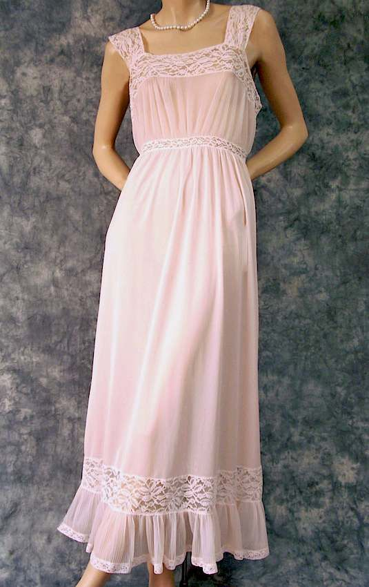 romantic nightgowns for blushing brides | Romantic Pink Vintage ...