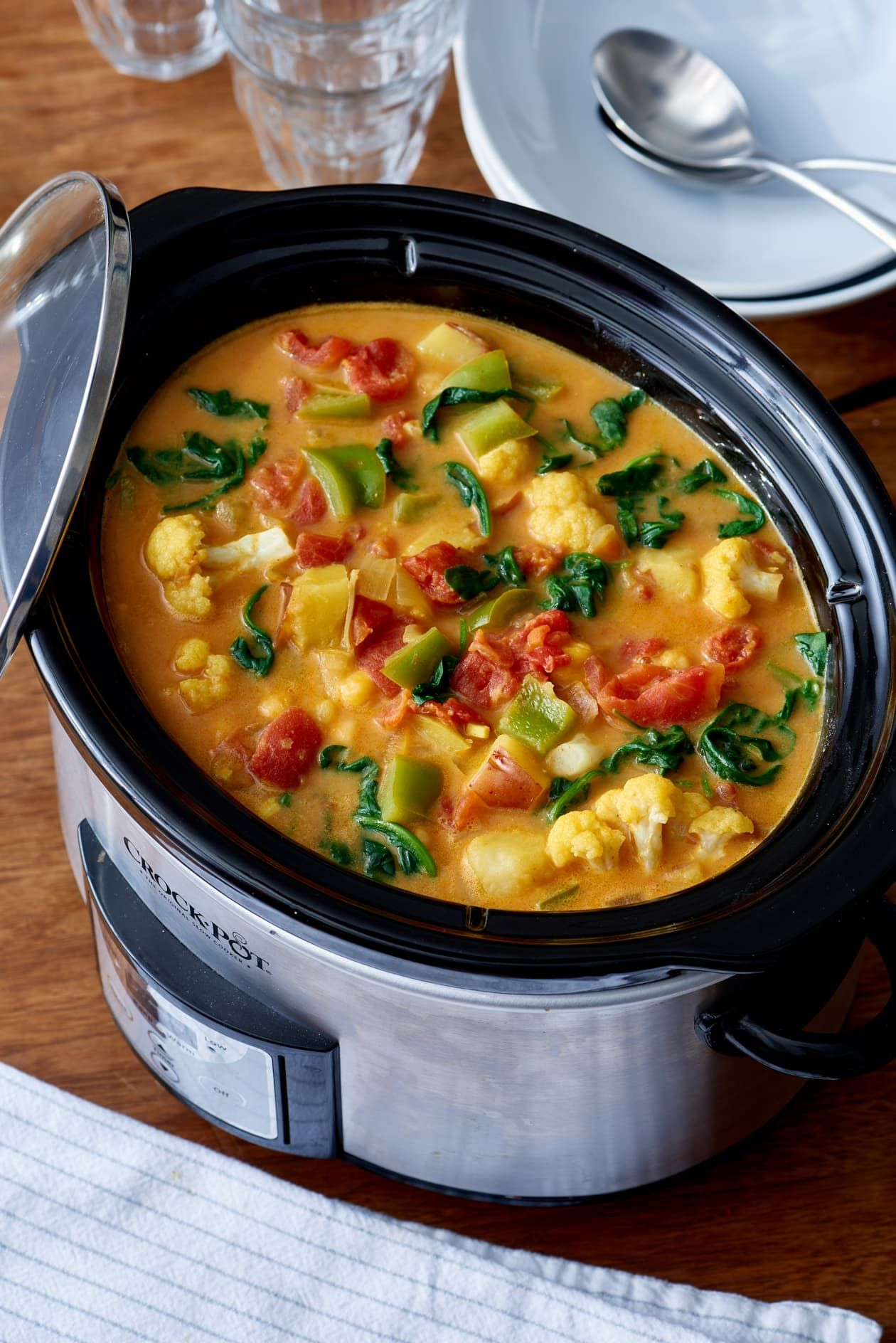 Slow Cooker Recipe: Curried Vegetable and Chickpea Stew