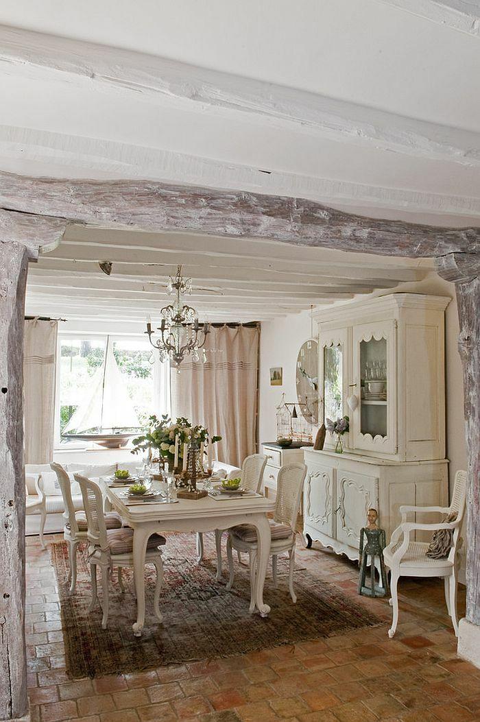 Rustikale Möbel im Esszimmer sind der letzte Schrei Home
