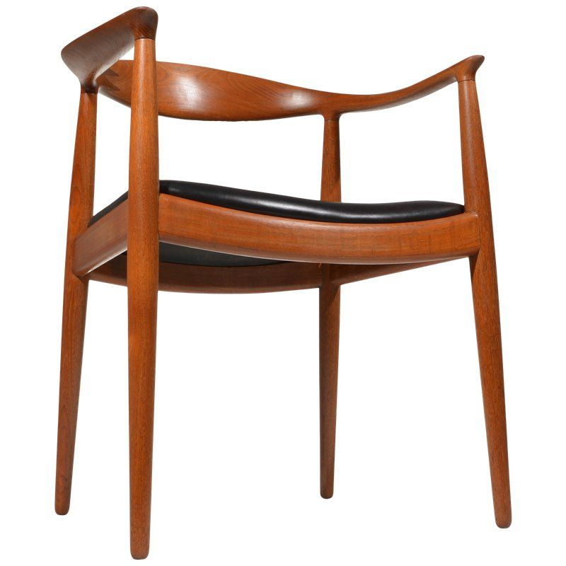 Early Hans Wegner For Johannes Hansen Jh 503 Chair In Teak And