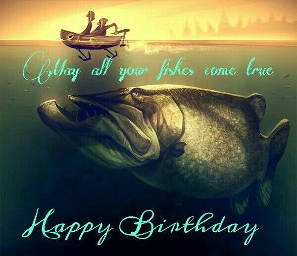 bc23435ae2451e82241b7c3a6188fb30 fish birthday happy birthday pinterest fish, birthdays and,Fishing Birthday Meme
