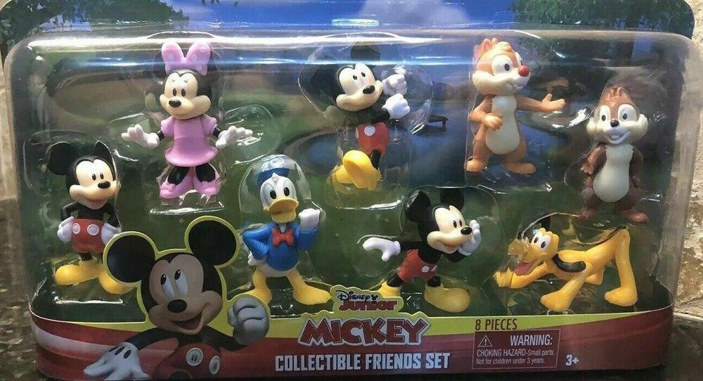 Disney Junior Mickey 8 Piece Collectible Friends Set