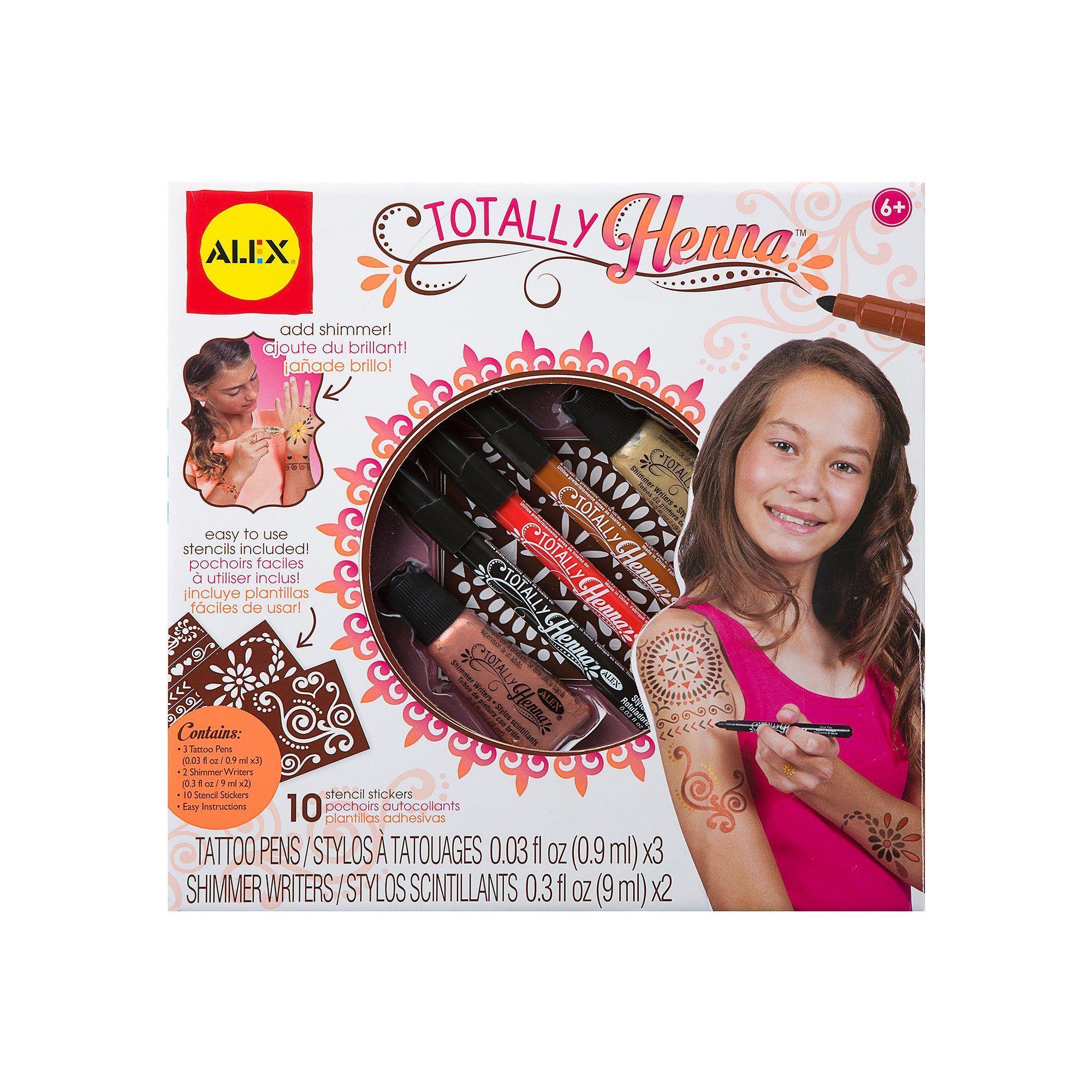 Henna Tattoo Kits For Kids: Henna Kit, Henna Tattoo Kit, Tattoos