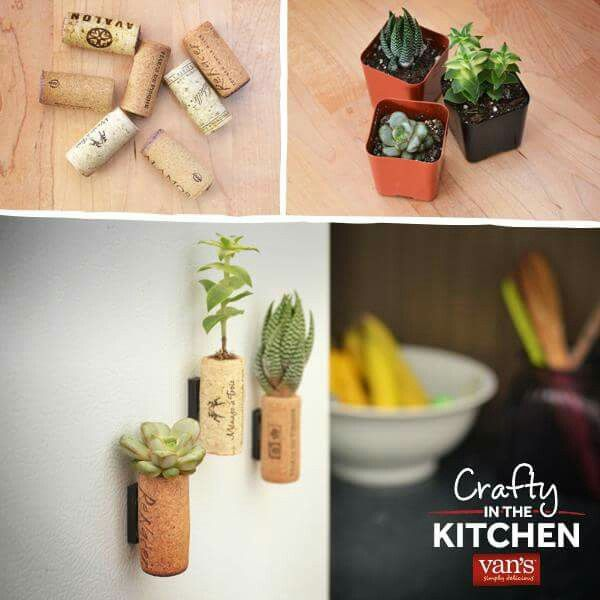 Cool succulents. Better made with artificial fairy garden supplies?