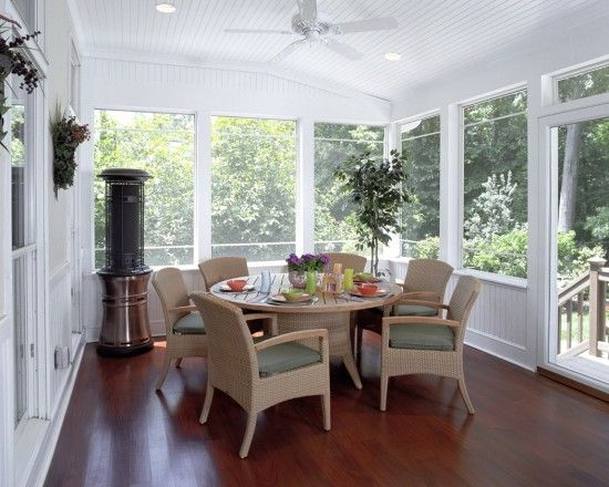Three Season Porch Design Ideas Pictures Remodel And Decor Traditional Porch House With Porch Sunroom Designs