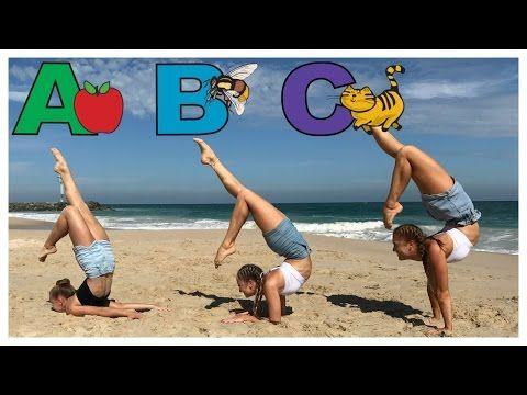 Extreme Yoga Challenge With 3 People Youtube Gymnastics Yoga Challenge Twins