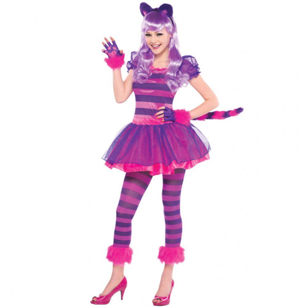 Cheshire Cat Costume Age 10-16 Years in 2019 | Halloween ...
