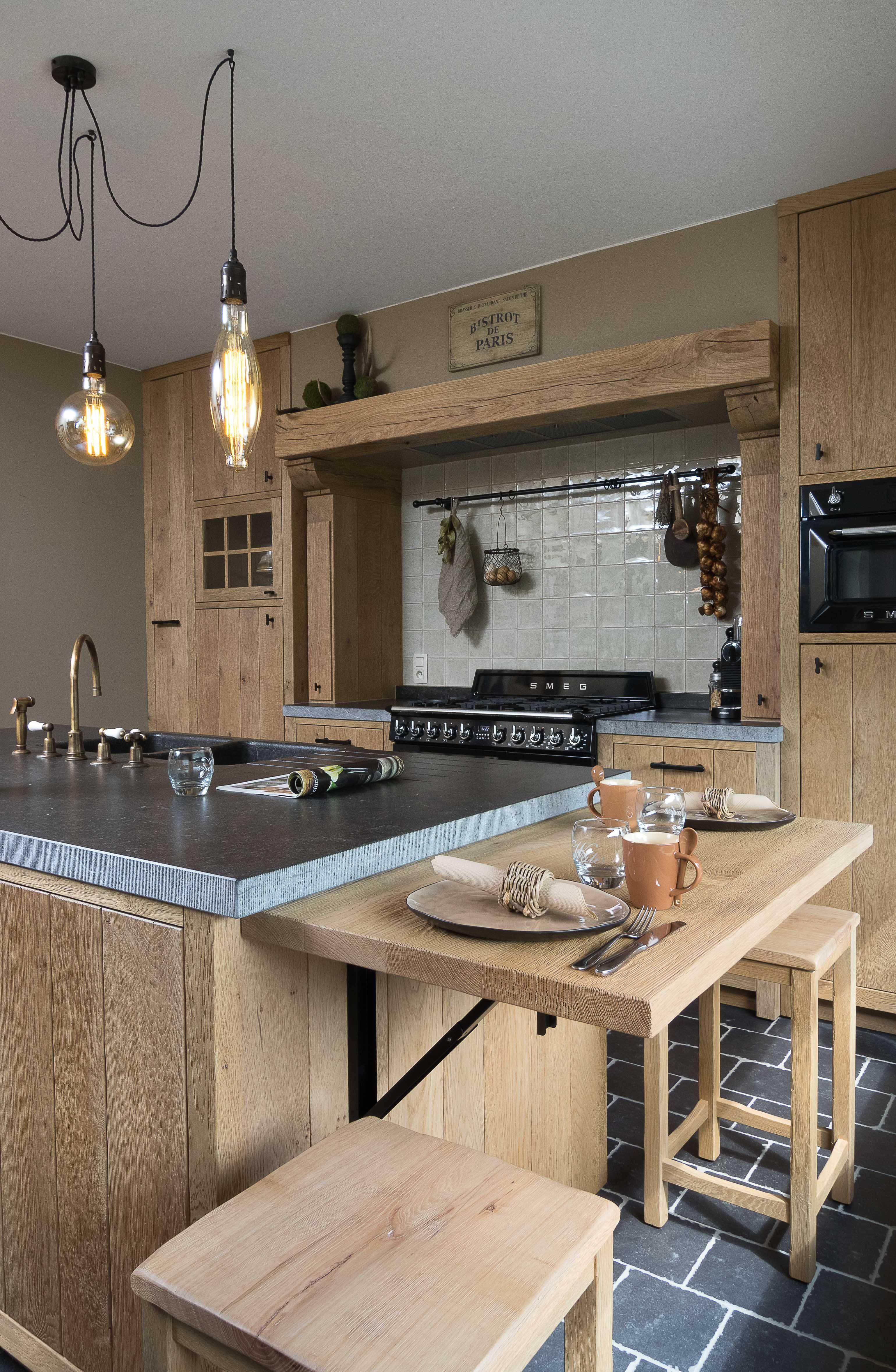Nood aan een nieuwe keuken? Laat u inspireren door de rustieke retro ...