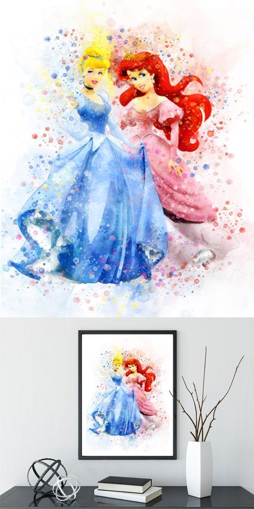 Ball Jar Watercolor Art Print Watercolor Art Prints Colorful