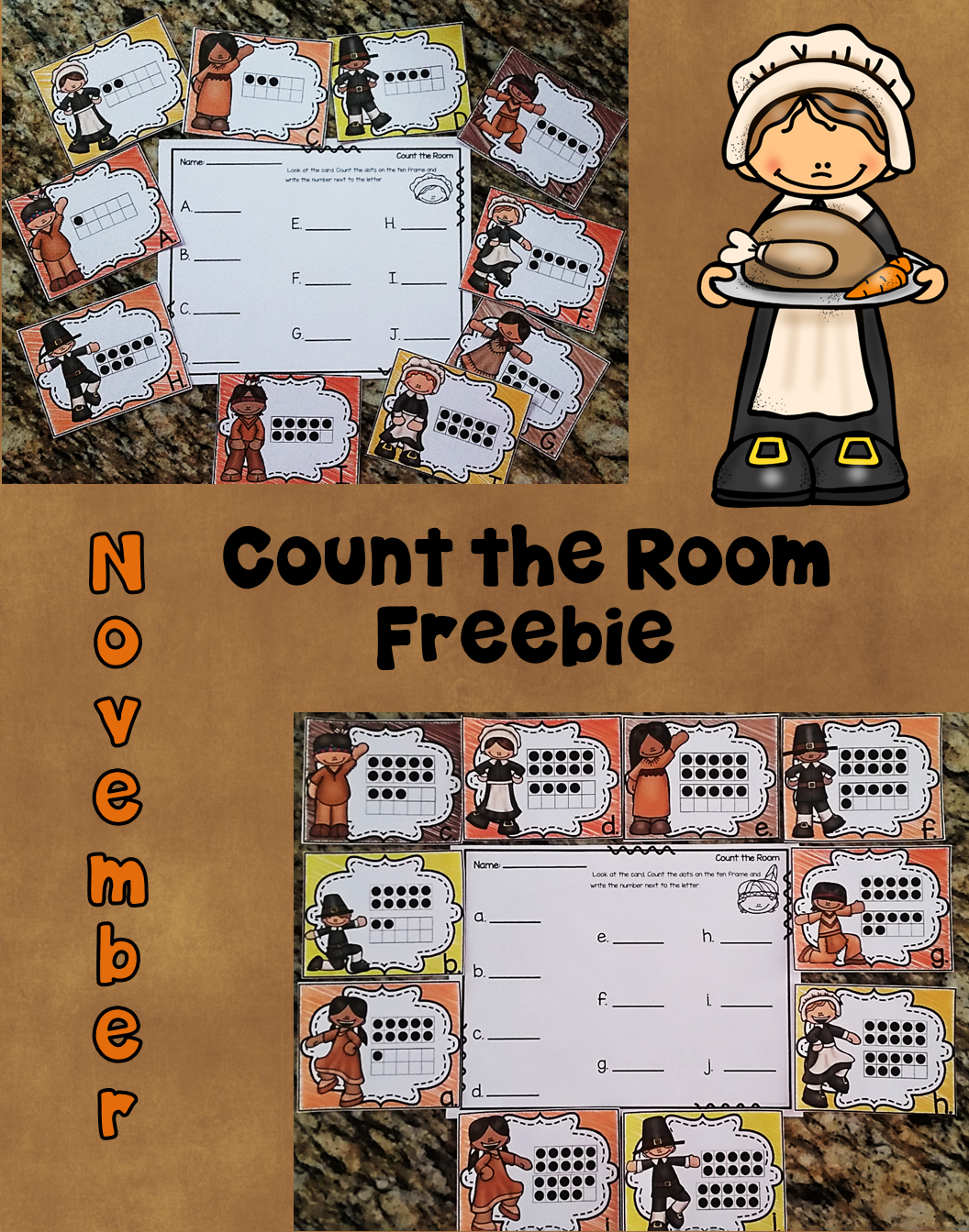 Practice Ten Frames With This Count The Room Freebie That