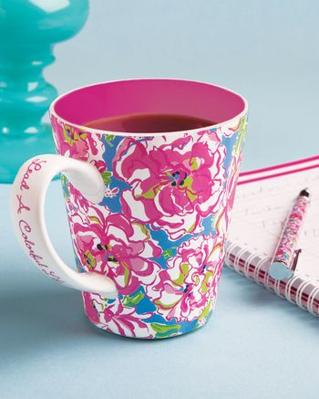 LILLY PULITZER - CAFE LILLY MUG #done