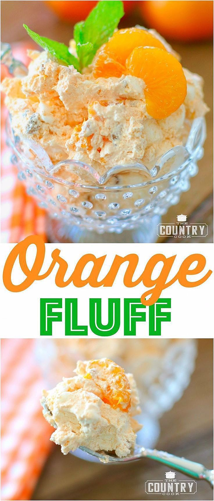 Photo of WEIGHT WATCHERS ORANGE FLUFF (+Video)   The Country Cook