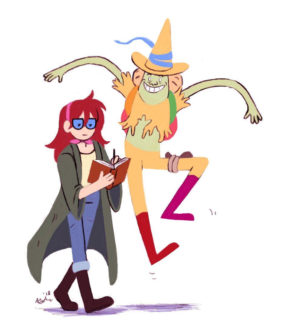 Artstation Betty And Magic Man Alex Johnston Adventure Time