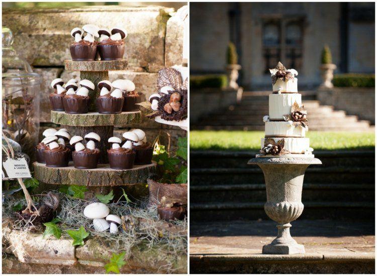 103 Id Es De D Co Mariage Champ Tre Atmosph Re Naturelle Et Romantique Mariage Cupcake And Deco