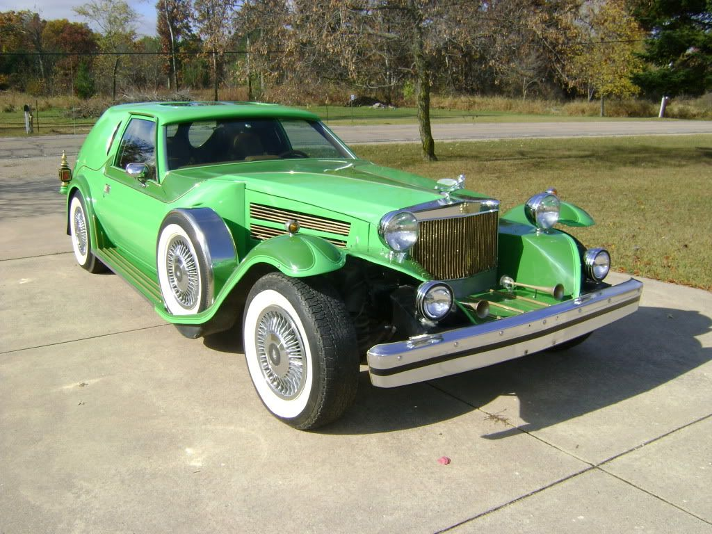 Custom Classic Cars What For This Ugly Car It Called The