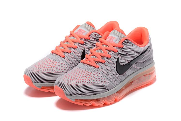384a390dd111 Nike Air Max 2017 Grey Oranger Women