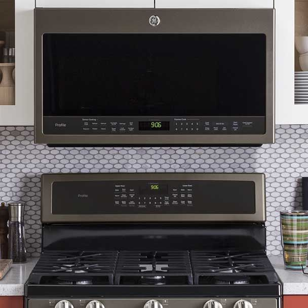 Versatility Slate Microwaves Come In Countertop Or Over The
