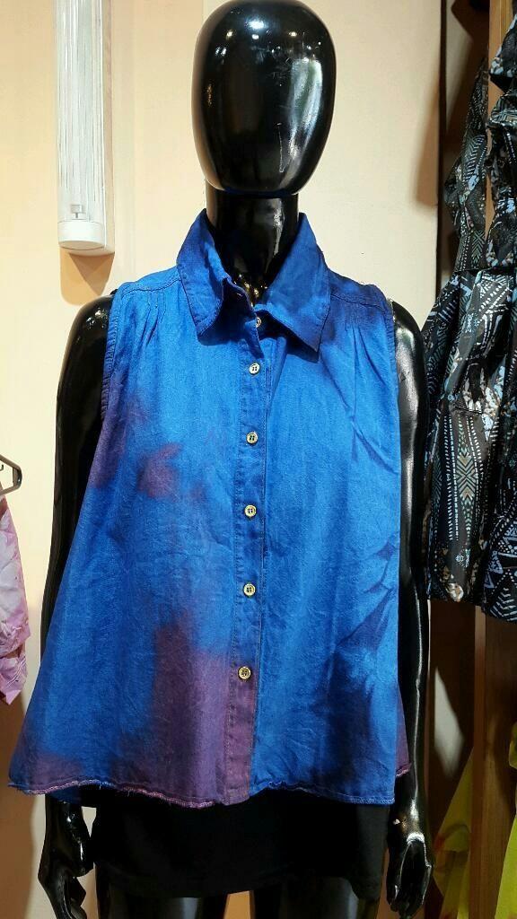 ¡Mirá nuestro nuevo producto Camisa Batik sin mangas ! Si te gusta podés ayudarnos pinéandolo en alguno de tus tableros :)
