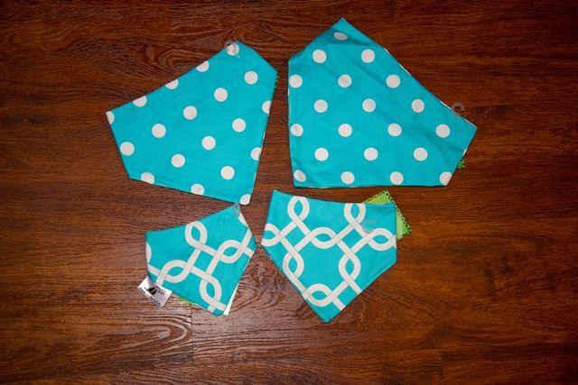 Signature reversible Uptown Pups bandanas. | 678-842-0041 | www.uptownpupsonline.com
