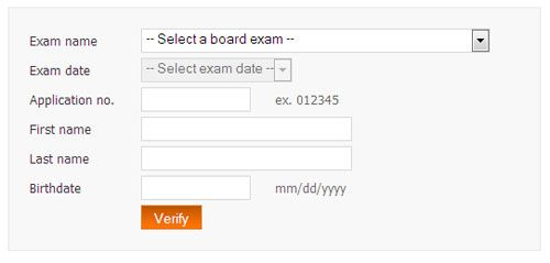 PRC Online Board Exam Verification of Rating | Informations | Board