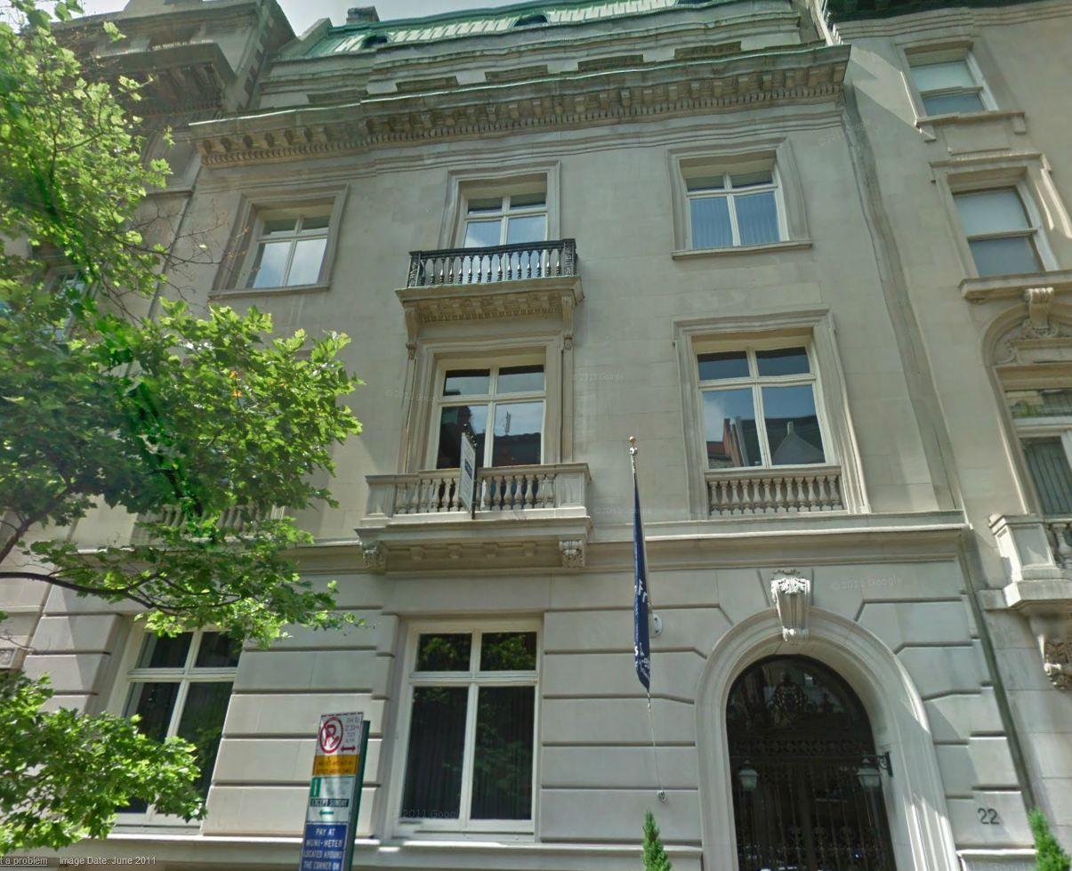 Julius Forstmann Mansion 1923, 22 East 71st Street House