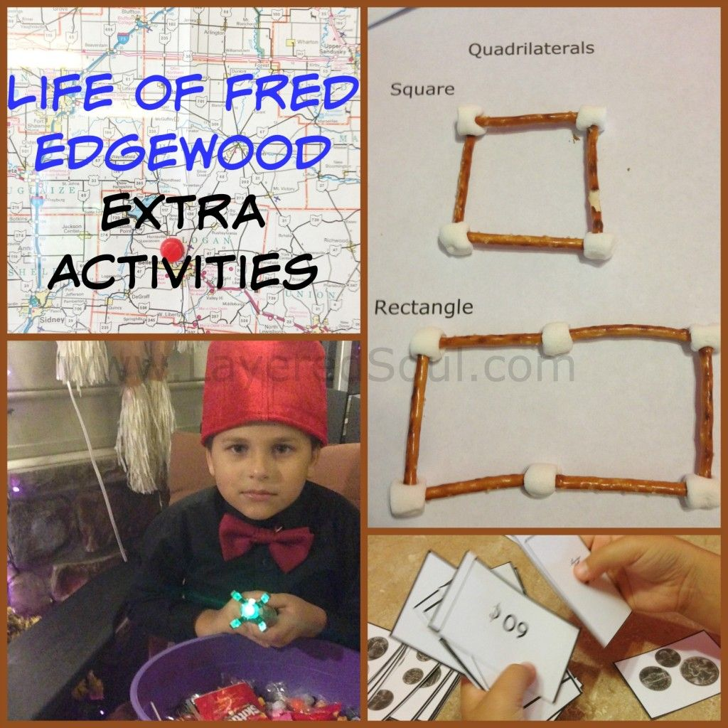 Life Of Fred Edgewood Extra Activities With Images