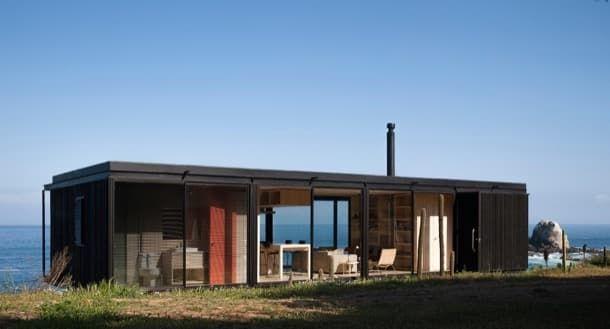 Casa Remota Hecha Con 4 Módulos Prefabricados Fotos Y