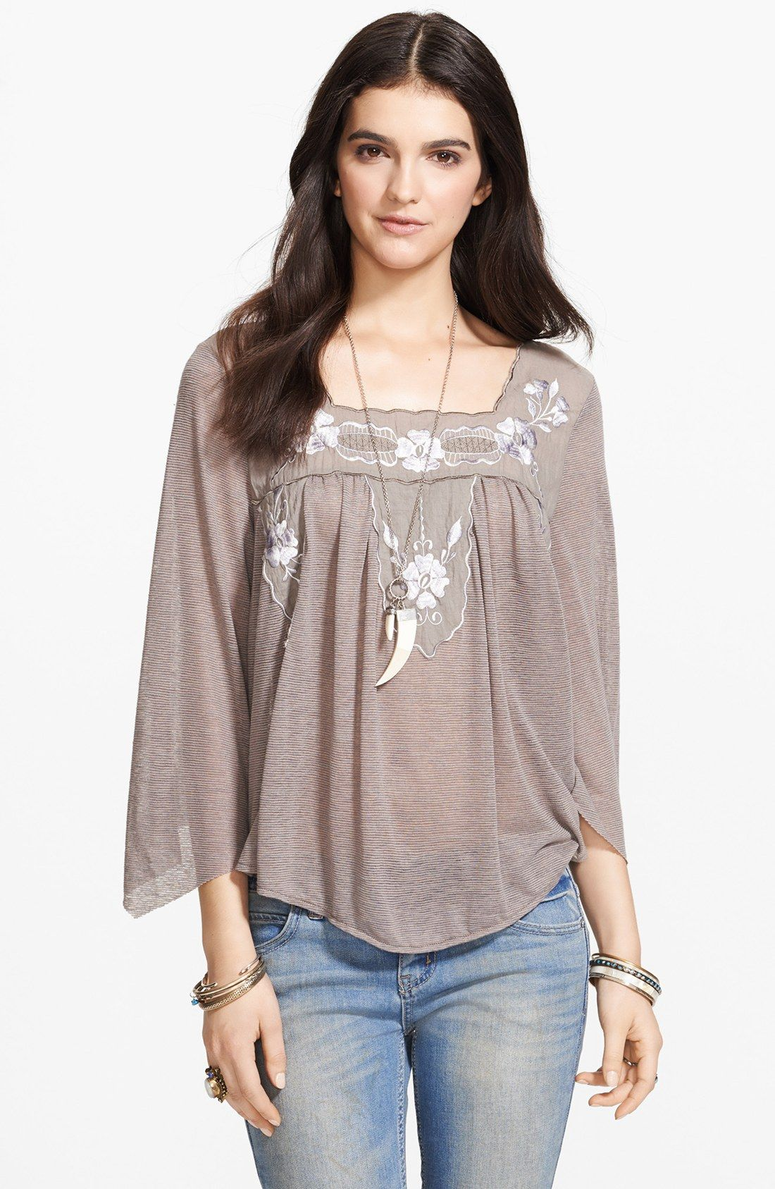 aea9bfc7674413 embroidery crochet peasant tops - Google Search | dress | Peasant ...