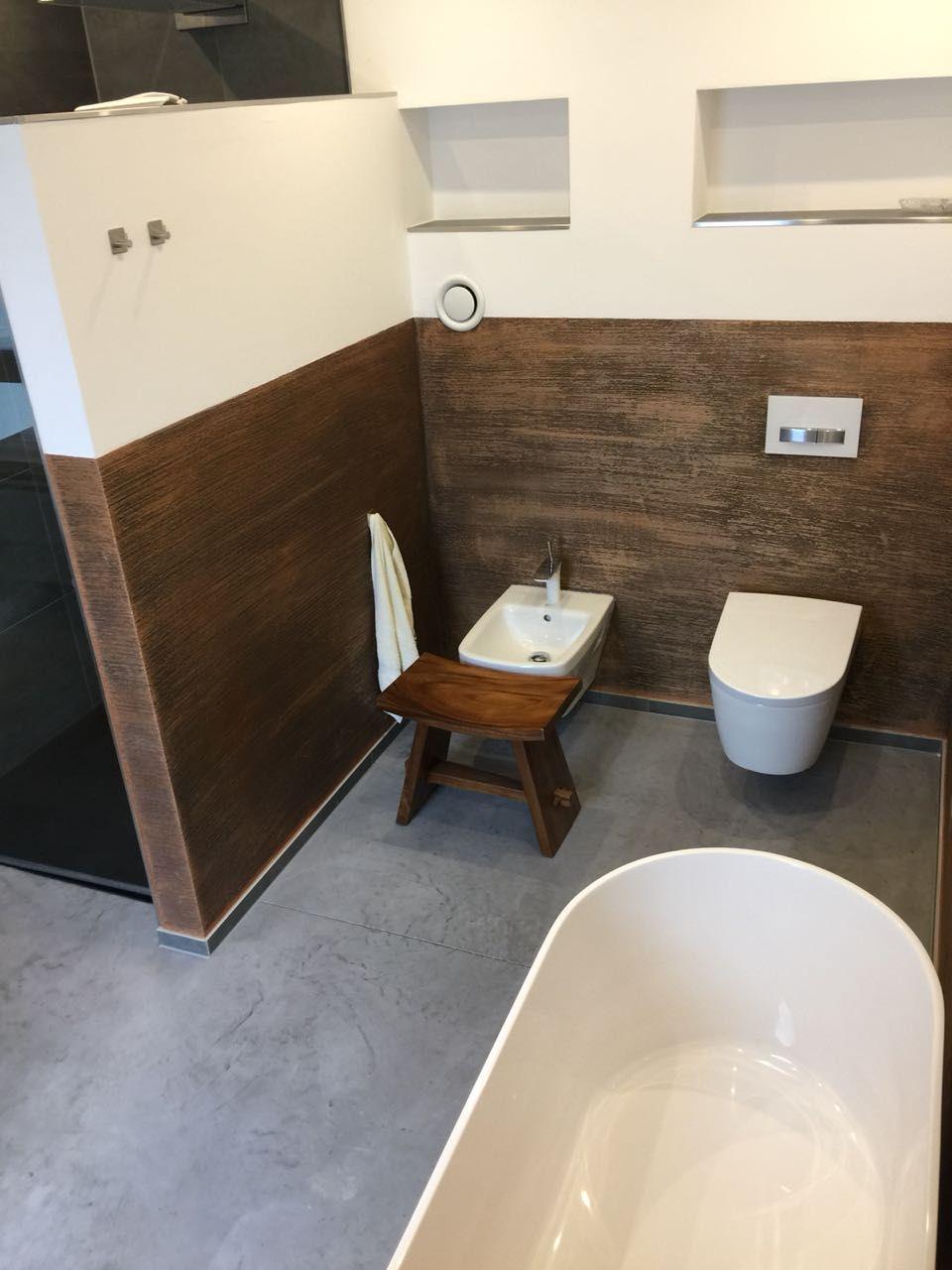 Wande Im Badezimmer Bodenbeschichtung 3d Fussboden Industrieboden