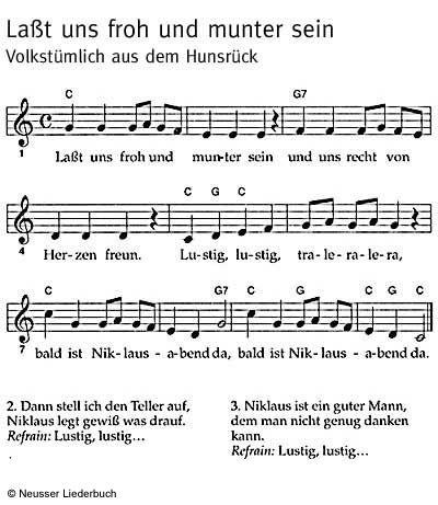 Resultado de imagen de Nikolauslied