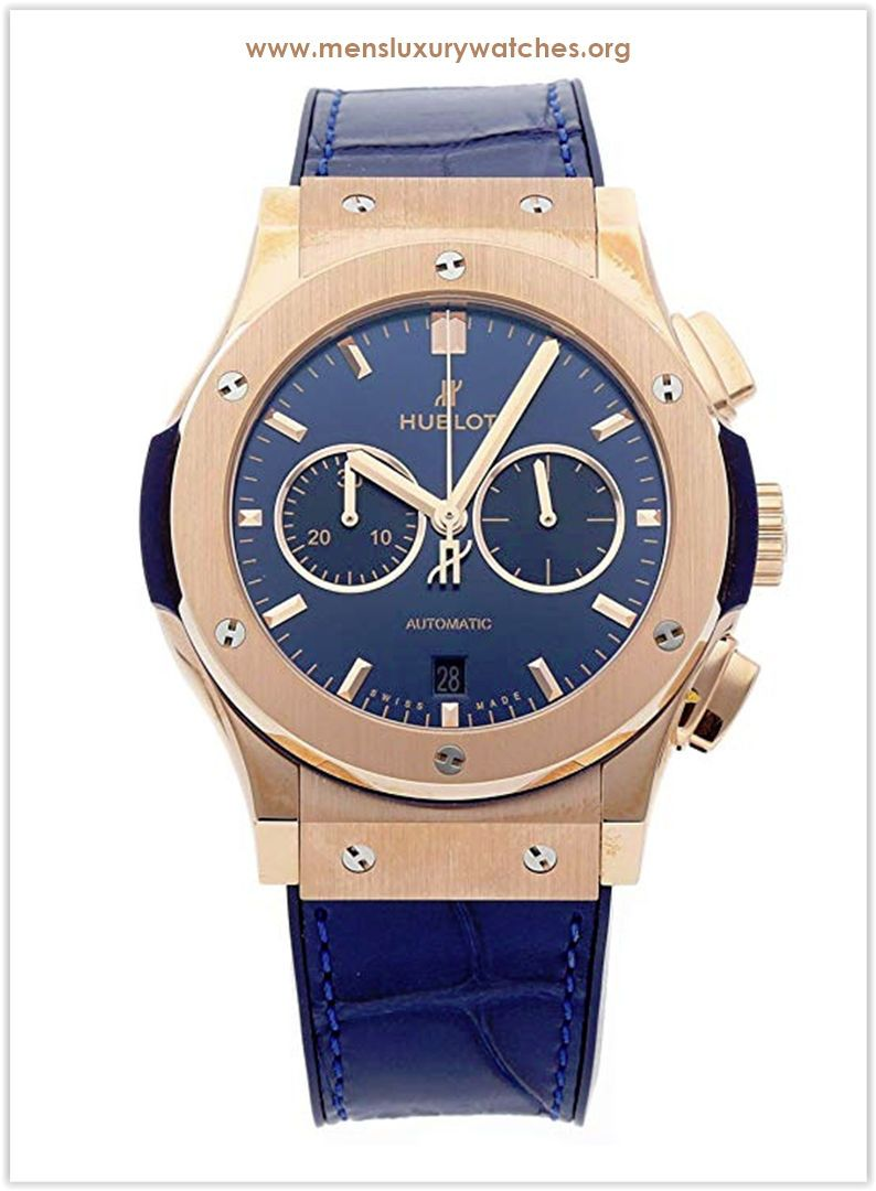 Hublot Watch Price >> Hublot Classic Fusion Mechanical Automatic Blue Dial Men S Watch